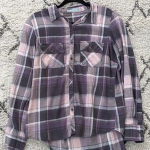 Maurice's plaid button-up Size Large